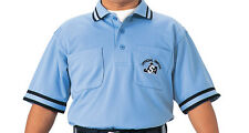 SSK JSA Baseball Umpire Jersey T-shirt Polo Shirt Blue UPW020 Made in JAPAN