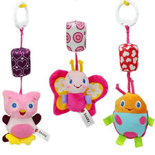 Animal Wind Chime Infant Plush Stroller Hanging Stuffed Toys Rattles Mobile