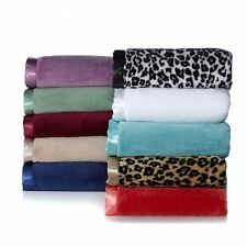 Concierge Collection Soft Cozy Summer Blanket Various Colors Sizes NEW