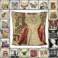 """Tapestry,Chenille Cushion Cover Decorative pillowcase Size 18""""x18"""" Rich Quality"""