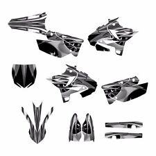 2002 - 2014 YZ125 YZ250 Graphics UFO Restyled kit #4444M Free Custom Service