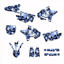 2002 - 2014 YZ125 YZ250 Graphics UFO Restyled kit #5555 Blue Boneyard