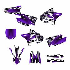 2002 - 2016 YZ125 YZ250 Graphics UFO Restyled #2500-Purple Free Custom Service