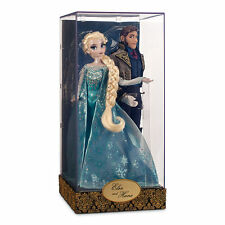 Disney Store - LE 6000 Elsa and Hans Doll Set Fairytale Designer Collection NEW