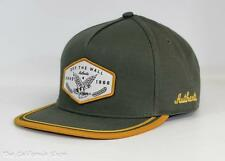 Vans Off The Wall Dalton Hat Cap Mens Green Gold Adjustable Snapback New NWT