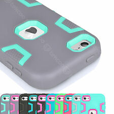 Defender Heavy Duty Rubber Plastic Case Cover Skin For iPod Touch 5th / 6th Gen