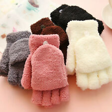 Cool Fashion Women Fingerless Winter Fall Hand Wrist Warmer Winter Gloves