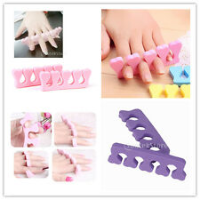 1Pair Soft Toes Fingers Separator for Manicure Pedicure Nail Art Polish Care
