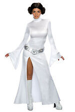 Womens Princess Leia Costume Rubies Star Wars Ladies Fancy Dress Party Outfit
