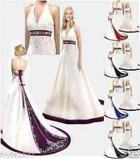 New  Wedding Dress/ Bridesmaid/ Gown stock Size 6 8 10 12 14 16 18 20 22