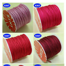 1mm Chinese Knotting Nylon String DIY Beading Bracelet Thread Cord 7 Colors