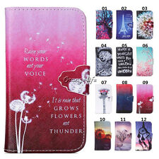 PU Leather Flip Stand Card Pouch Wallet Case Cover For Samsung Galaxy S3 / i9300