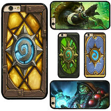 HearthStone Heroes Of Warcraft Hard Phone Cover Case for iPhone Samsung