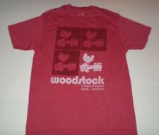 Woodstock 3 Days of Peace,Music...and Love Mens Tshirt Red