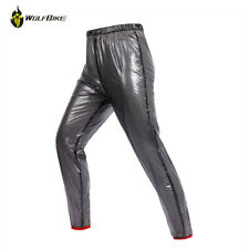 NEW MESH WATERPROOF MOTORCYCLE MOTORBIKE BLACK RAIN OVER PANTS TROUSERS