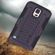 Heavy Duty Shockproof Hybrid Silicone Case Cover Tough Hard For Samsung Galaxy