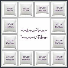 CUSHION PADS INSERT FILLERS, HOLLOW FIBRE CUSHION PAD ALL SIZES
