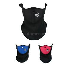 Winter Skiing Sports Neck Warmer Face Mask Thermal Fleece Half Face Mask NX8M