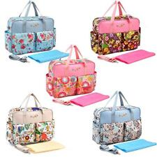 Baby Diaper Shoulder Bag Handbag with Changing Pad Liner Water Resistant NT ND5Y