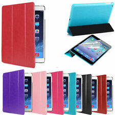 US SHIP Slim Magnetic Leather Smart Stand Case Cover For iPad Air 1/2/3/4 Mini