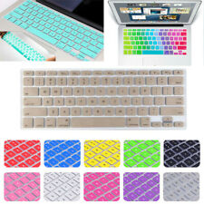 Silicone Keyboard Cover Skin For Apple Macbook Air Pro 11 12 13 15 inch Retina