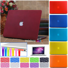 4in1 Matt Hard Case Cover Keyboard Skin + Plug For MacBook Air Pro 11 13 15 ''