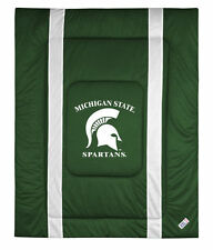 NCAA Michigan State Spartans Sidelines Comforter TWIN FULL/QUEEN KING