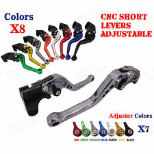 CNC Short Brake Clutch Levers for Kawasaki NINJA 650R ER-6F/N VERSYS 650 06-08