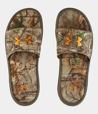 Under Armour UA Boy's Ignite Camo IV Slides Sandals - Realtree - Boys 3, 4, 5, 6
