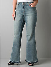BRAND NEW PLUS Size LANE BRYANT Jeans Flare / Flared 14 16 18 20 22 24 26 28