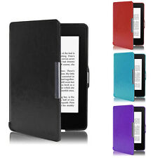 Ultra Slim Skin Shell Smart PU Leather Case Cover For Amazon Kindle Paperwhite 5