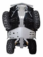 Ricochet Off-Road 3 PC Full Frame Skid Plate Set, 2011 Can-Am Outlander X-XC