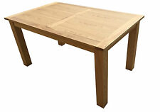 BRAND NEW SOLID OAK WOOD DINING TABLE IN DARK AND NATURE COLOUR