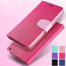 Luxury PU Leather Magnetic Flip Wallet Case Cover Card Holder For Mobile Phone
