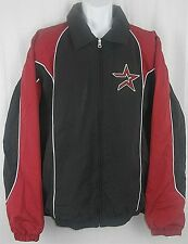 Houston Astros MLB G-III Mens Left Chest Full Zip Jacket Black Adult Sizes