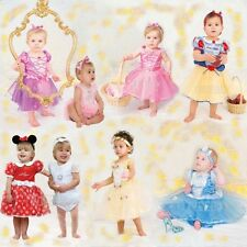 Official Disney Baby Princess Fancy Dress Toddler Belle Minnie Infant Dresses