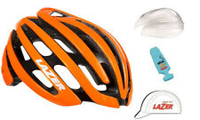 LAZER Z1 ROAD BIKE HELMET KIT FLASH ORANGE