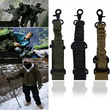 Tactical Point Sling Adjustable Bungee Rifle Gun Sling Strap Safety Belt
