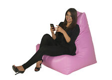 Bonkers GPod Bean Bag Gaming Sofa PU Leather Double Zipped Colour Variations