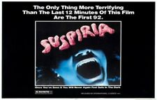SUSPIRIA Movie Poster Horror Dario Argento Opera