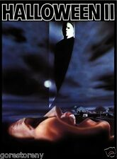 HALLOWEEN 2 Michael Myers Movie Poster Horror