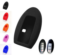 3 4 BUTTON FIT FOR INFINITI EX35 FX35 G35 M35H QX56 SILICONE KEY COVER FOB CASE