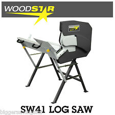 WOODSTAR SW41 SWIVEL LOG SAW 240V 3HP