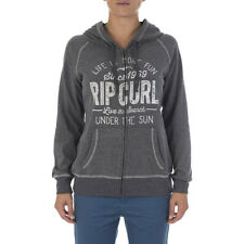 Rip Curl Cardere Womens Hoody Zip - Black Marled All Sizes