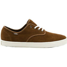 Vans Madero Suede Mens Footwear Shoe - Desert Palm Brown Marshmallow White