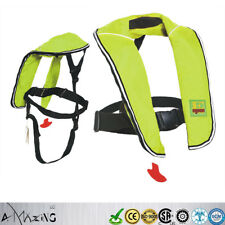 A+ Quality Inflate Inflatable Life Jacket Vest PFD Automatic/Manual Youth Junior