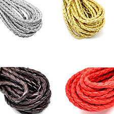 "5M Braiding Leatheroid Thread Cord Corde 5mm( 2/8"") DIY Jewelry Crafts Findings"