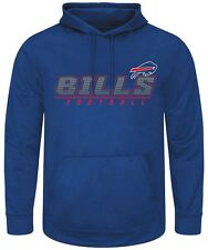 Buffalo Bills NFL Mens Punt Return Pullover Hoodie Royal Blue Big Sizes