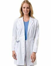 Dickies Missy 34 Inch Three Pocket White Lab Coat