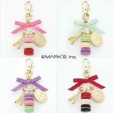 100% Authentic LADUREE Key Chain Ring Eiffel Tower & Macaron Kawaii Gift japan